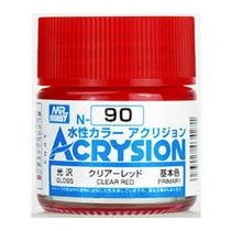 Acrysion (10 ml) Clear Red