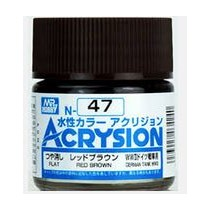 Acrysion (10 ml) Red Brown