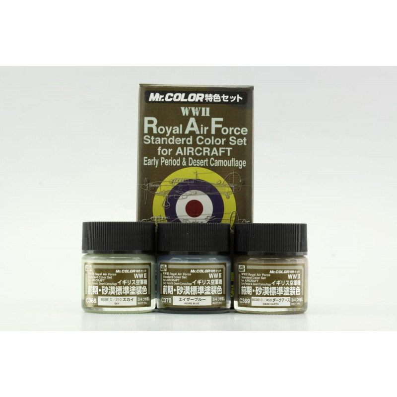 MR. COLOR- ROYAL AIR FORCE WWII color early