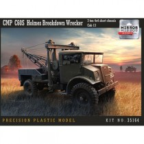 CMP CHEVROLET C60L GS' WITH WINCH, 3 TON CHASSIS, CAB 11 1/35