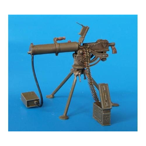 U.S. MACHINE GUN .30 WATTER COOLED 1/35