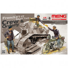 French FT-17 Ligth Tank Crew