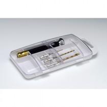HG Quick Change pin vise set, 1,2,3 mm.