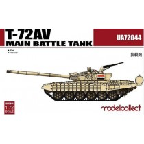 T-72AV Main Battle Tank in 1:72
