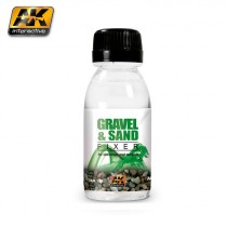 Gravel and sand fixer 100 ml.