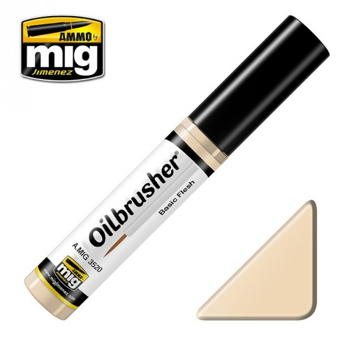 Oilbrusher White