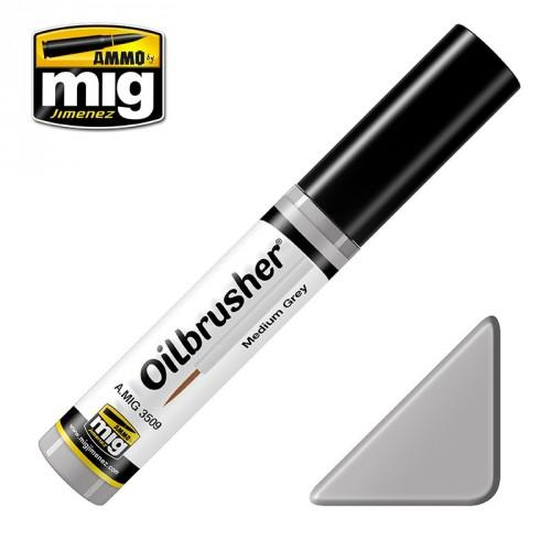 Oilbrusher Medium Grey