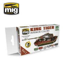 KING TIGER EXTERIOR COLOR (SPECIAL TAKOM EDITION) VOL.2