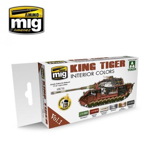 KING TIGER INTERIOR COLOR (SPECIAL TAKOM EDITION) VOL.1