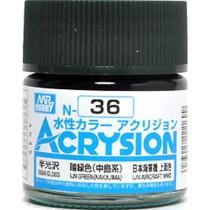 Acrysion (10 ml) IJN Green (Nakajima)