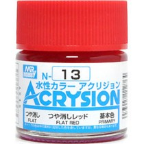 Acrysion (10 ml) Flat Red