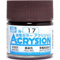 Acrysion (10 ml) Hull Red