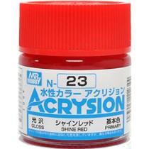 Acrysion (10 ml) Shine Red