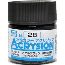 Acrysion (10 ml) Metal Black