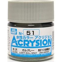 Acrysion (10 ml) Light Gull Gray