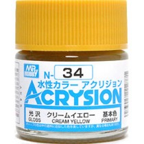 Acrysion (10 ml) Cream Yellow