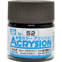 Acrysion (10 ml) Olive Drab (1)