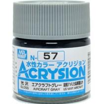 Acrysion (10 ml) Aircraft Gray