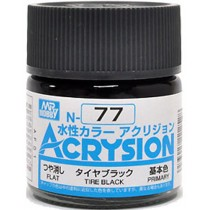 Acrysion (10 ml) Tire Black