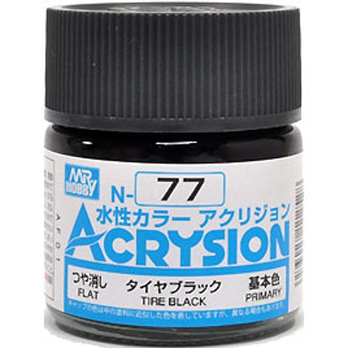 Acrysion (10 ml) Tire Black
