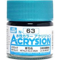 Acrysion (10 ml) Metallic Blue Green