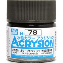 Acrysion (10 ml) Olive Drab (2)