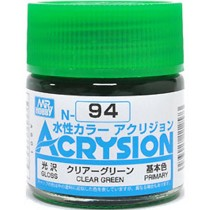 Acrysion (10 ml) Clear Green