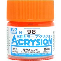Acrysion (10 ml) Fluorescent Orange