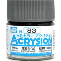Acrysion (10 ml) Dark Gray (2)