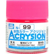 Acrysion (10 ml) Fluorescent Pink