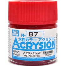 Acrysion (10 ml) Metallic Red