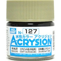 Acrysion (10 ml) Cockpit Color (Nakajima)
