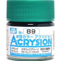 Acrysion (10 ml) Metallic Green