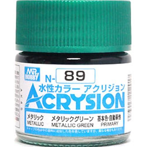 Acrysion (10 ml) Metallic Green