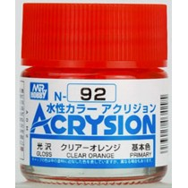 Acrysion (10 ml) Clear Orange