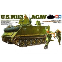 M4A3 SHERMAN 75MM.+FIGURES 1/35 TAMIYA