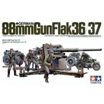 German 88mm Gun FlaK 36/37 1/35