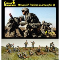 Modern U.S. Soldiers In Action set 2 1/72
