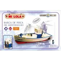 Lola, barca de pesca del mediterráneo 1/25