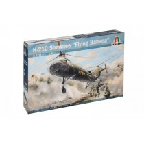 Piasecki H-21 Flying Banana (100% new Moulds) 1/48