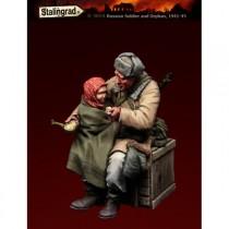 Soldado Ruso y Huerfano 1941-45 1/35
