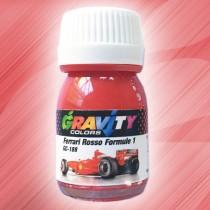 GC-188Ferrari Rosso Formule 1de Gravity Colors