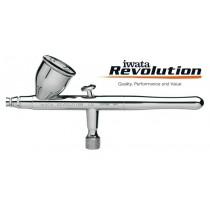 AEROGRAFO REVOLUTION IWATA DOBLE ACCION HP-CR  0.5 MM.