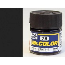 Mr. Color  (10 ml) Metal Black