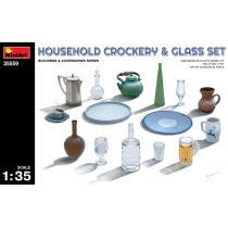 Household Crockery & Glass Set 1/35