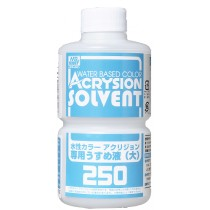 ACRYSION SOLVENT  250 ML. MR. HOBBY