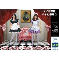 Maid Cafe Girls, Nana and Momoko 1/35
