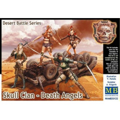 Skull Clan - Death Angels, Desert Battle Series 1/35