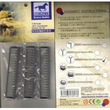 Palomillas doble ala Alemanas (54 unidades) en plástico