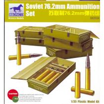 Munición soviética 76.2mm 1/35